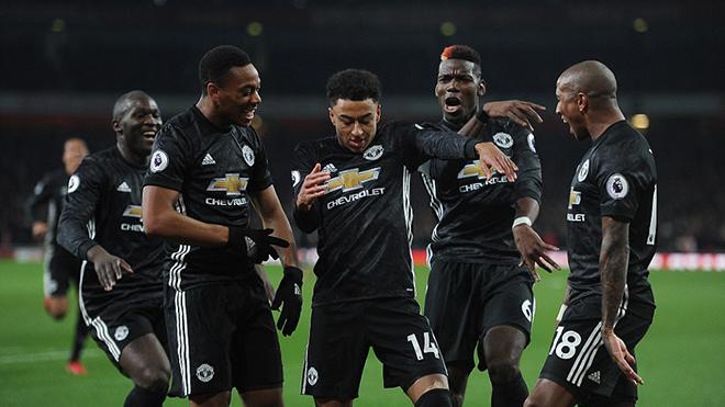 Video clip highlights bàn thắng trận Arsenal 1-3 Manchester United