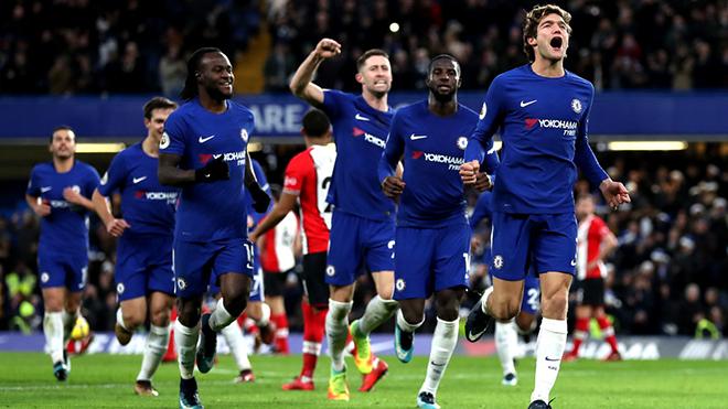 Video bàn thắng trận Chelsea 1-0 Southampton: Cú đá phạt của Marcos Alonso quá đẹp!