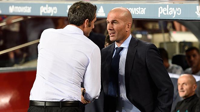 Trực tiếp Real Madrid - Barcelona (19h00, 23/12)