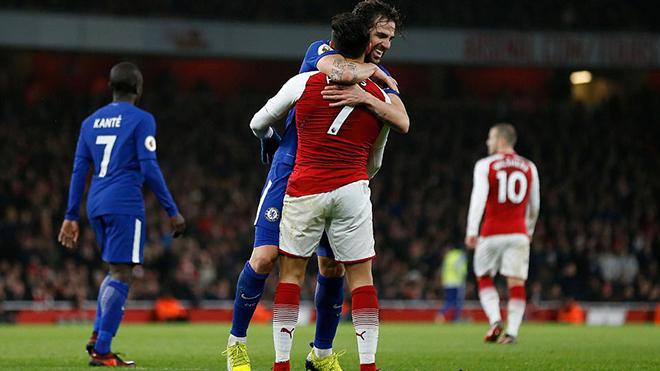 Video clip bàn thắng và highlights trận Arsenal 2-2 Chelsea