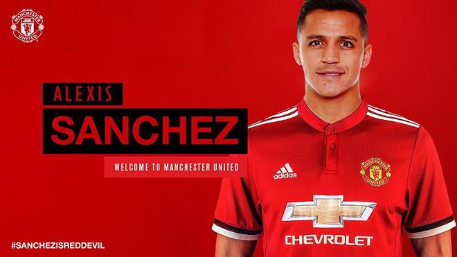 CẬP NHẬT Sanchez đã đặt chân đến Manchester, ký hợp đồng và ra mắt M.U