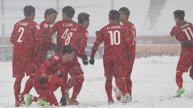 Những người hùng U23 Việt Nam dự Gala mừng công ở Mỹ Đình