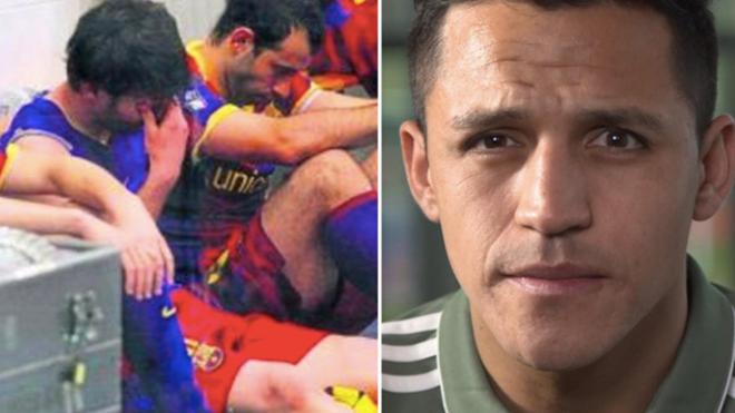 Alexis Sanchez: 'Messi đã khóc sau khi đá hỏng penalty'