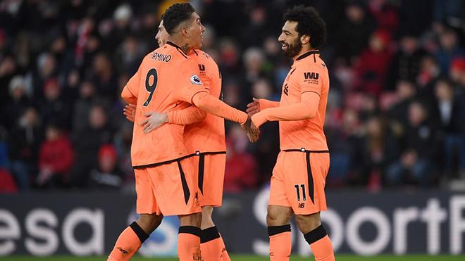 Video bàn thắng Southampton 0-2 Liverpool: Firmino-Salah tỏa sáng, bám sát M.U