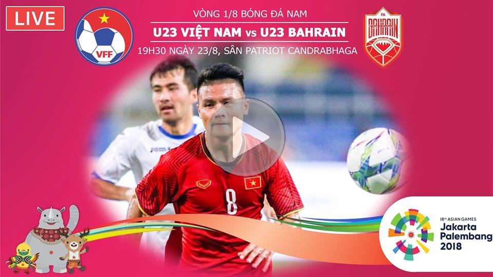 VTC3, Trực tiếp bóng đá, lịch thi đấu bóng đá Asiad 2018, Xem VTC3 trực tiếp, VTC, VTV6, VOV, U23 Việt Nam, U23 Bahrain, trực tuyến, lịch phát sóng VTC3, trực tiếp U23 VN