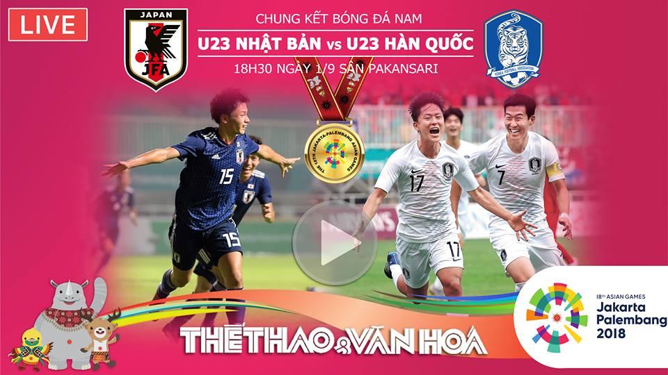 VTC3, VTV6, truc tiep bong da, bong da, VTC, VTC Now, trực tiếp bóng đá, xem VTC3, VOV, truc tuyen, hom nay, lich thi dau bong da Asiad 2018, U23 Hàn Quốc vs U23 Nhật Bản