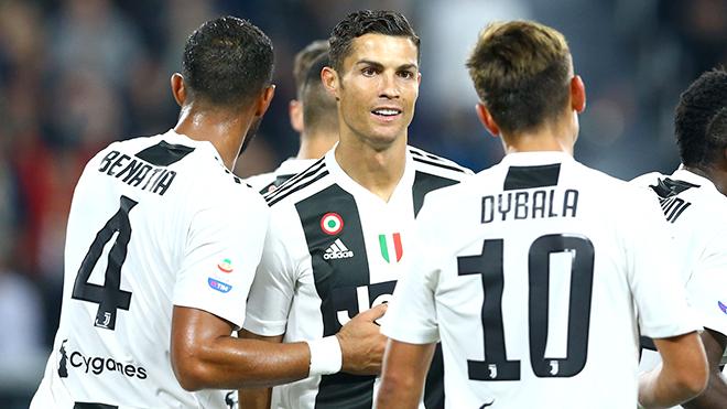 Ronaldo. Cristiano Ronaldo. Juventus. Juve. Bà đầm già. Champions League. Bóng đá Ý
