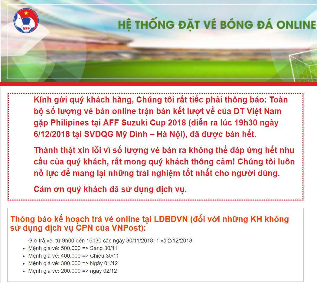 VTV6, VTC3, VTV5, trực tiếp bóng đá, vtv6 trực tiếp, xem vtv6, bong da, lịch thi đấu bóng đá hôm nay, vé bóng đá, lịch thi đấu AFF Cup 2018, Việt Nam vs Philippines