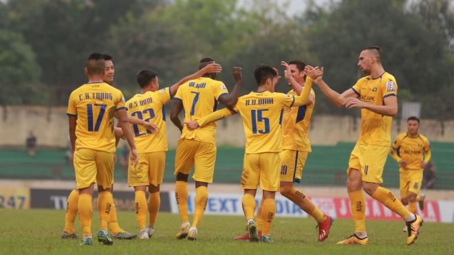 Trực tiếp bóng đá: SLNA vs Quảng Nam, Sài Gòn vs An Giang. Link xem trực tiếp Sài Gòn đấu với An Giang, SLNA vs Quảng Nam, Cúp Quốc gia 2019. Xem bóng đá trực tuyến