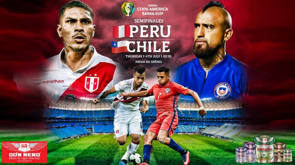 Soi kèo bóng đá Chile vs Peru (07h30, 4/7). Trực tiếp Copa America 2019
