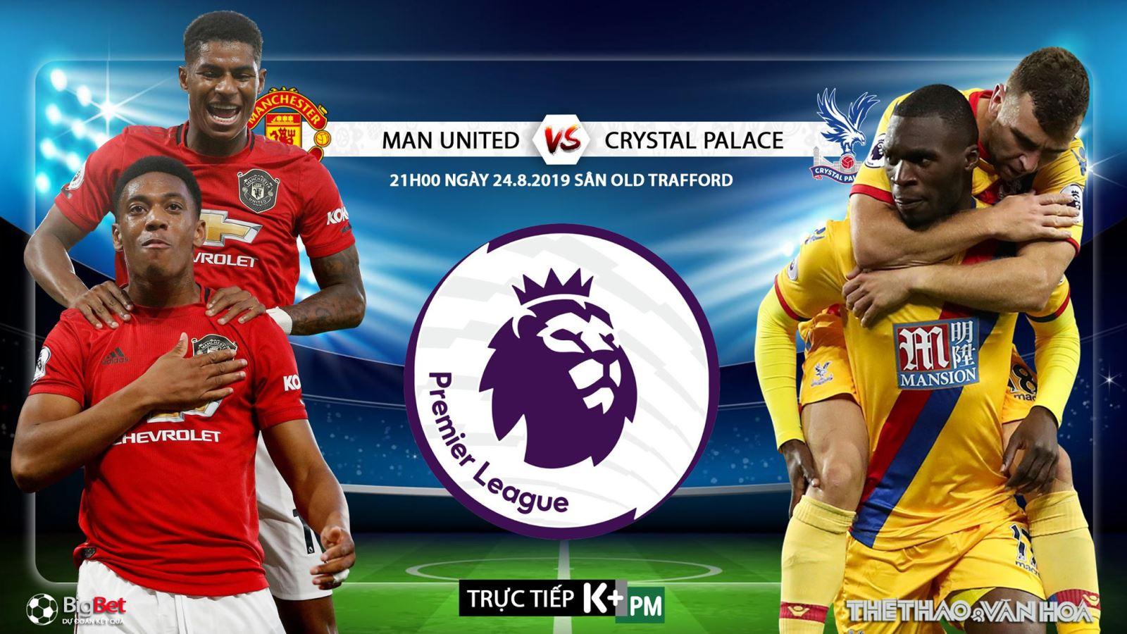 Trực tiếp bóng đá hôm nay: MU vs Crystal Palace, Liverpool vs Arsenal (K+ PM), Ngoại hạng Anh