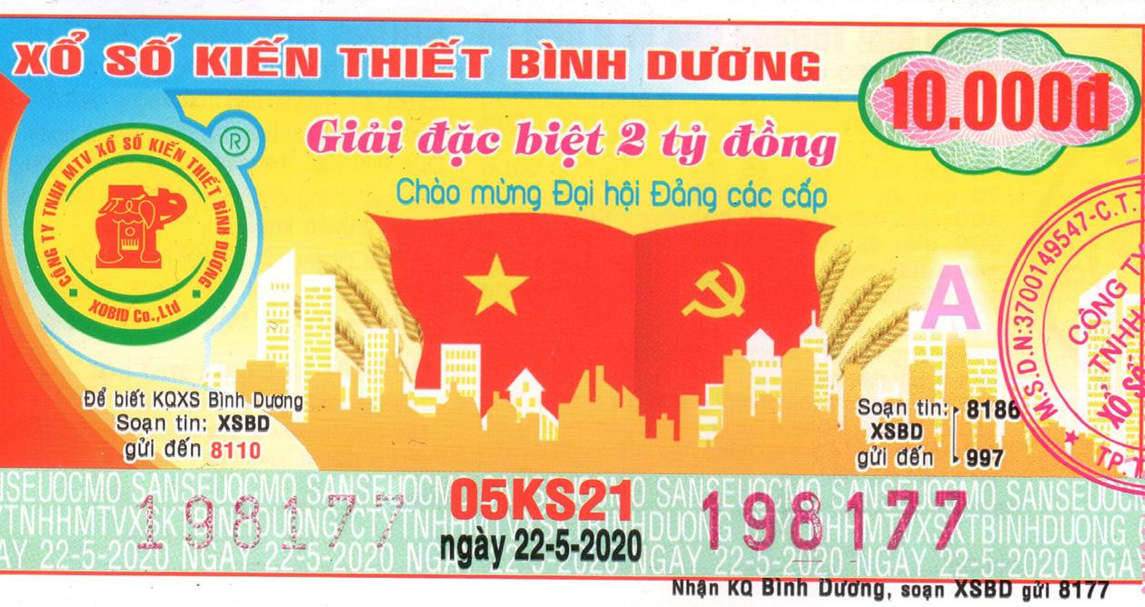 Xổ Số Binh Dương Xsbd Xsbd Hom Nay Sxbd Kết Quả Xổ Số Binh Dương Ngay 22 5 Ttvh Online