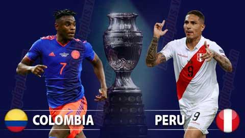 Kèo nhà cái. Soi kèo Copa America 2021. Trực tiếp bóng đá Colombia vs Peru