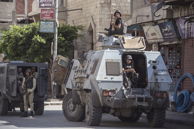 Ai Cập, khủng bố, Bắc Sinai