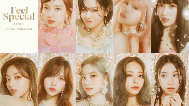 Twice 'vượt mặt' Blackpink, Red Velvet với màn comeback