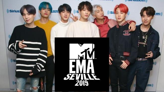 BTS 'càn quét' giải thưởng MTV EMA 2019 với 3 đề cử