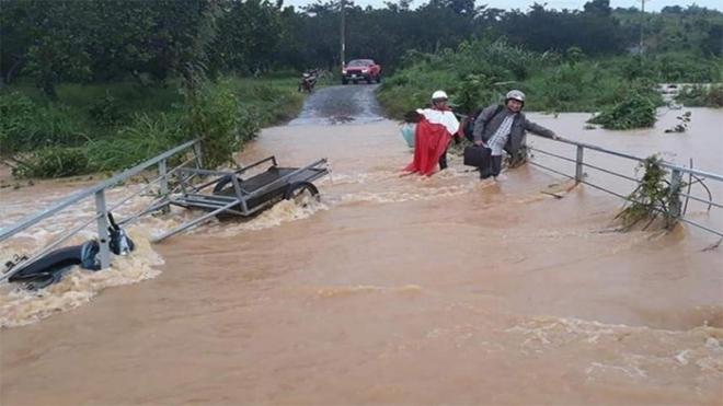 Tây Nguyên, Nam Bộ và Nam Trung Bộ tiếp tục có mưa to đến rất to