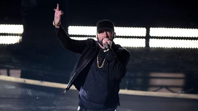 Oscar 2020, sau 18 năm, Eminem gây bất ngờ biểu diễn Lose Yourself tại Oscar 2020, Oscar, Oscar lần 92, lễ trao giải Oscar, Eminem Oscar, Eminem