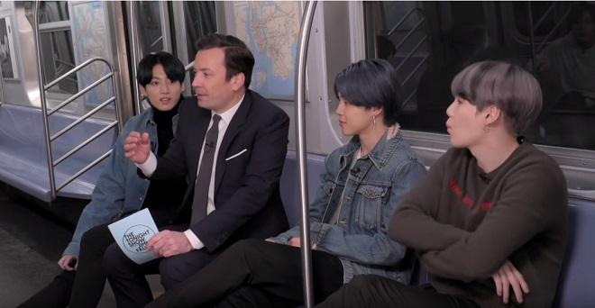 BTS, RM tiết lộ lần đầu tiên gặp Jungkook chỉ mặc... quần lót, RM BTS, Jungkook BTS, BTS 2020, BTS The Tonight Show