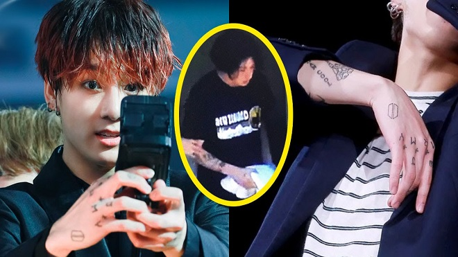 Jungkook, xăm hình, Jungkook tattoos, giấu hình xăm, BTS, BTS Jungkook