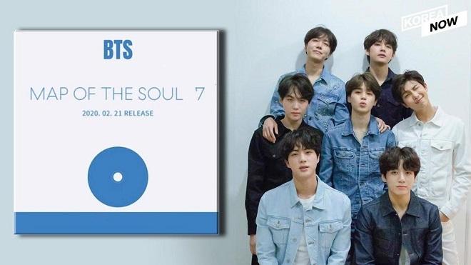 BTS, 7 thành tích đáng kể của BTS, Billboard, Map Of The Soul: 7, BTS 2020