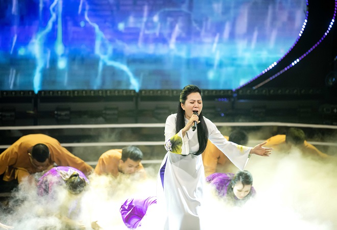 Đêm nhạc, Ru Bão, Đinh Hiền Anh, Trọng Tấn, Sao Mai Huyền Anh, Công Lý, Thanh Lam