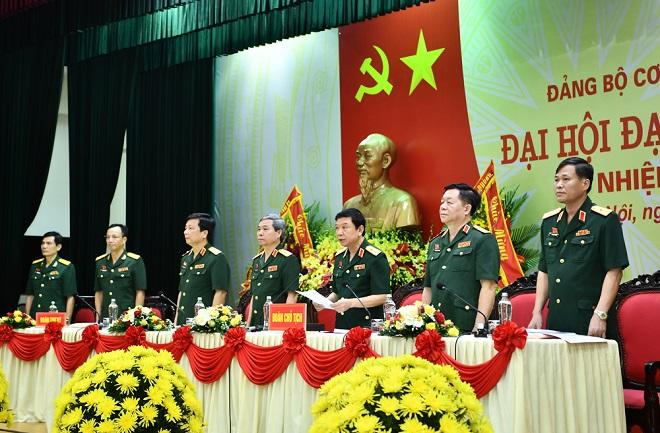 Thượng tướng, Đỗ Căn, Giữ chức, Bí thư Đảng ủy Cơ quan Tổng cục Chính trị