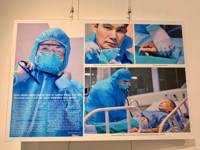 Nguyễn Á, sách ảnh, Tinh thần Việt và cuộc chiến chống đại dịch Covid-19, triển lãm, ra mắt, nhiếp ảnh gia