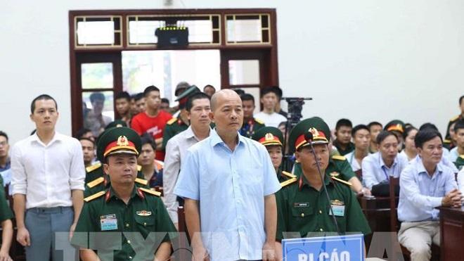 Tòa án Quân sự Quân chủng Hải quân xét xử sơ thẩm vụ án Đinh Ngọc Hệ và đồng phạm