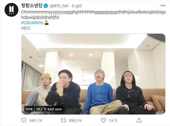 BTS, BTS tin tức, BTS thành viên, Dynamite, Grammy, đề cử, Grammy 2021
