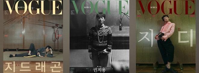 G-Dragon, Bigbang, GD, Kpop, idol, tạp chí, Vogue