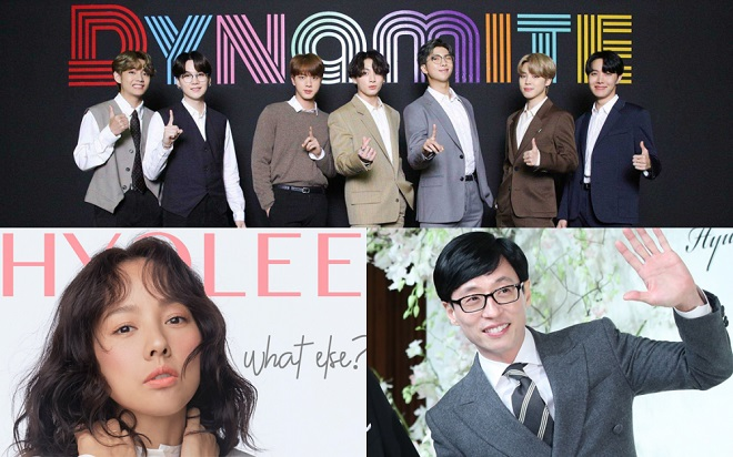 BTS, BTS tin tức, BTS Idol, Kpop, Hàn Quốc, Yoo Jae Suk, Big Hit Entertainment