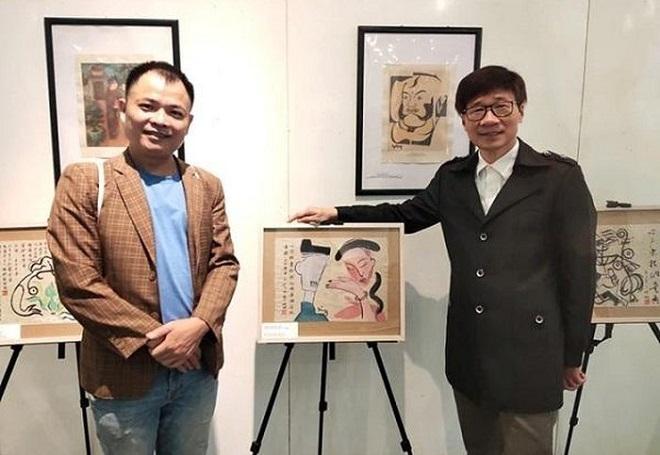 Triển lãm, Hà Nội, hội họa, họa sĩ, Nguyễn Tuấn Sơn