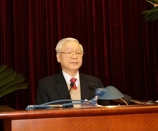 Hội nghị lần thứ 15, Đảng khóa XII, Nguyễn Phú Trọng