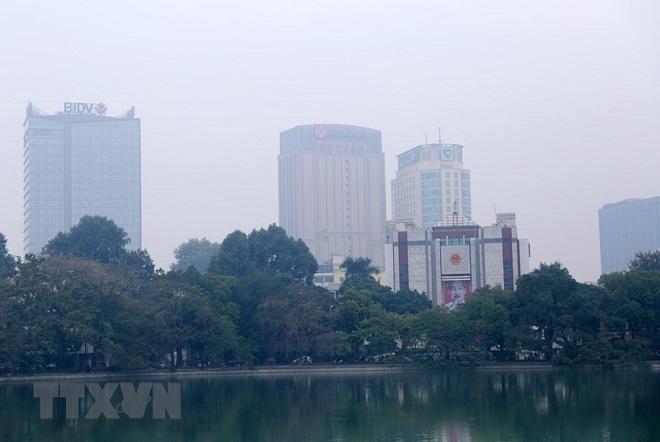 Hà Nội, ô nhiễm, không khí, sương mù, thời tiết