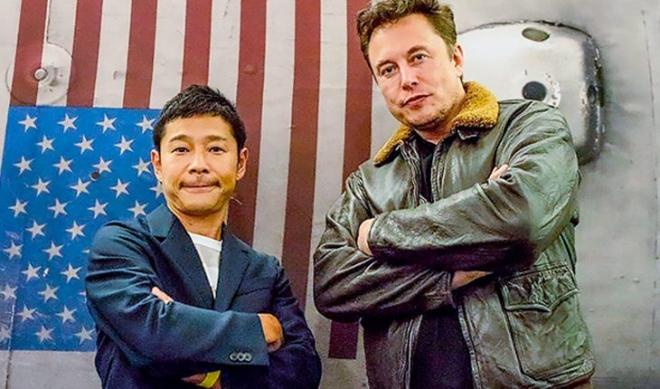 Yusaku Maezawa, Elon Musk, Mặt Trăng