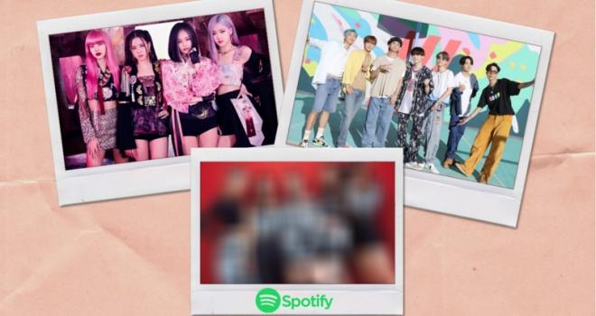 Blackpink, BTS, Rose, Gone, On The Ground, Blackpink Rose