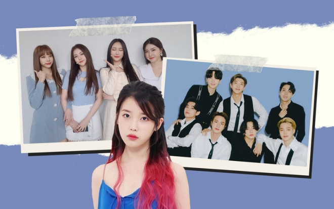 BTS, BTS tin tức, Blackpink, IU, SHINee, Brave Girls, Kpop, Gaon