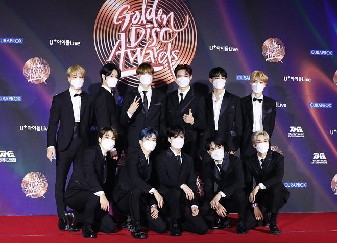 BTS, BTS tin tức, Hwasa, Kpop, ITZY, Mamamoo, IU, Monsta X, The Boyz, Golden Disc, Golden Disc 2021