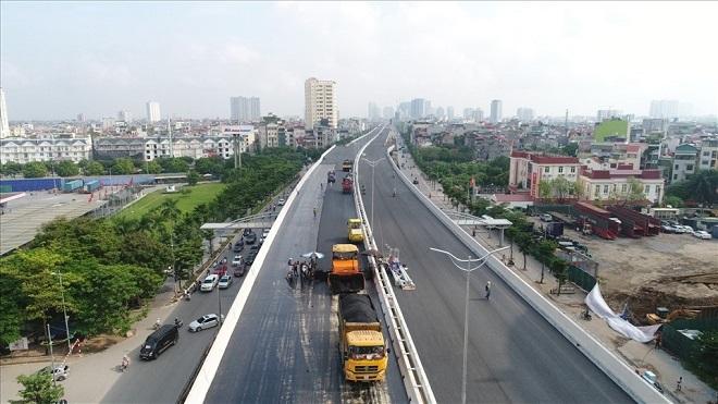 Thông xe, Cầu cạn Mai Dịch Nam Thăng Long, Giải phóng Thủ đô, Hà Nội