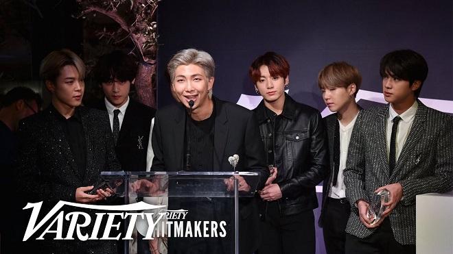 Blackpink, BTS, BTS tin tức, Blackpink tin tức, Hitmakers 2020, Variety, Kpop, Harry Styles