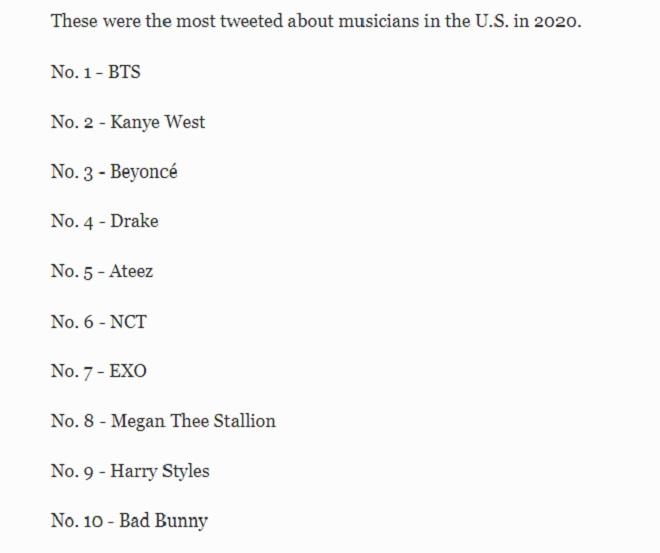 BTS, BTS tin tức, BTS Idol, Kanye West, NCT, Kpop, Drake, EXO