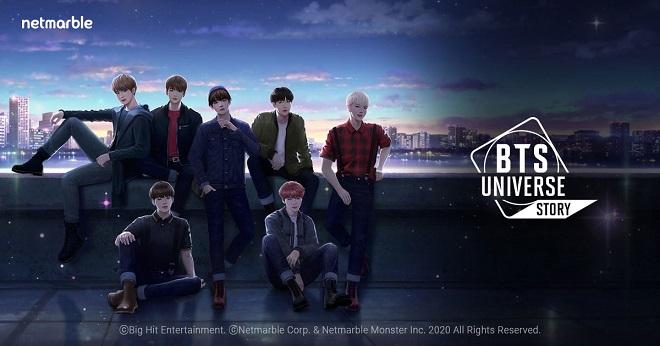 BTS, BTS tin tức, BTS thành viên, BTS YouTube, BTS Universe Story, Netmarble, game, trò chơi di dộng, trò chơi điện tử