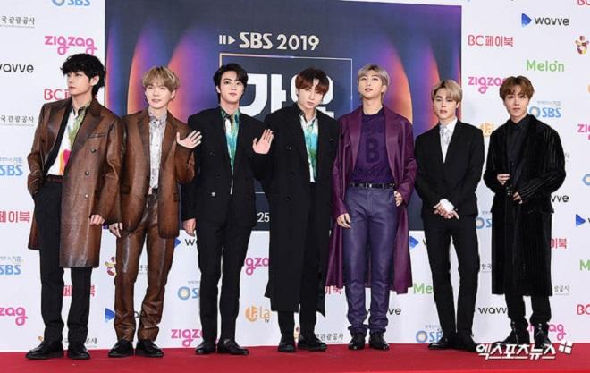 BTS, Twice, gây sốt visual trên thảm đỏ, SBS Gayo Daejun 2019, BTS Jungkook, BTS RM, BTS J-Hope, BTS V, Twice thành viên
