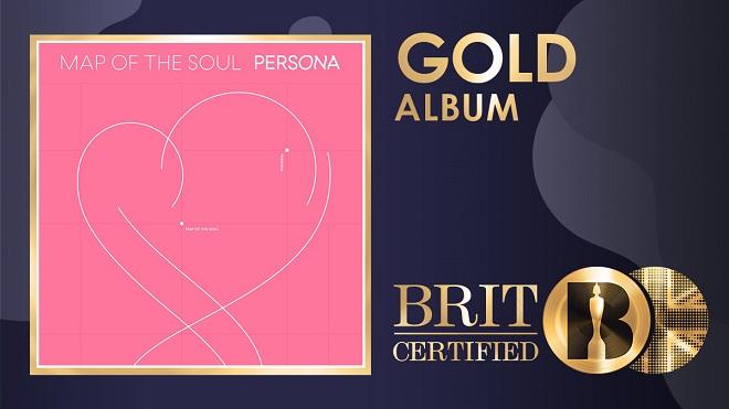 BTS, Đĩa Vàng, Map Of The Soul: Persona, BTS Album, BTS tin tức, BTS thành viên, BTS bài hát, BTS Dynamite, BTS Boy With Luv, Halsey, BRIT Awards, BTS On