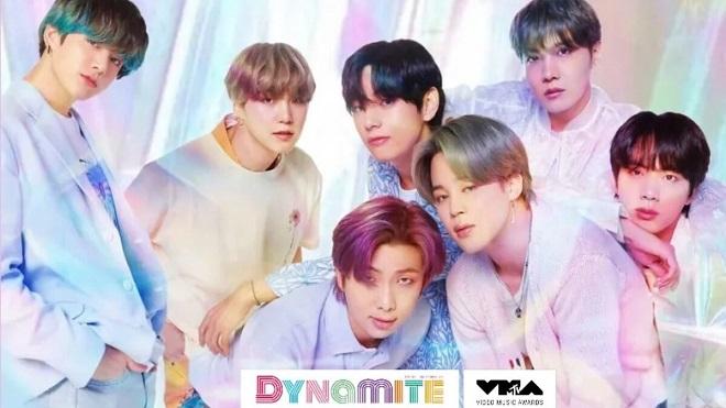 BTS trình diễn 'Dynamite' lần đầu tiên tại MTV VMA 2020