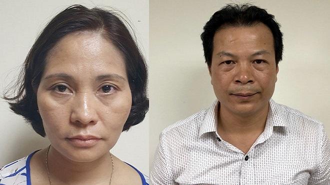 Hà Nội, Khởi tố, vụ án, Trung tâm Kiểm soát bệnh tật, CDC, Nguyễn Thị Kim Dung, Nguyễn Ngọc Quỳnh
