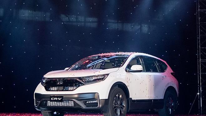 Honda Việt Nam xuất xưởng xe CR-V 2020 mới