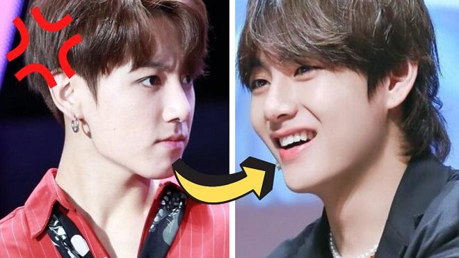 Đá trái bóng trúng mặt Jungkook, V BTS nhận lại điều gì?