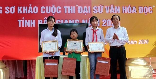 Bắc Giang, đam mê, đọc sách, thanh thiếu nhi, học sinh, Đại sứ Văn hóa đọc